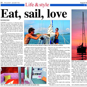 Phuket gazette thailand 18 24 august 2012 phil and iva for The apartment design your destiny episode 1